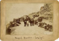 Photography:Cabinet Photos, IMPERIAL CABINET OF WALAPAI INDIANS AT MOQUI PUEBLO BY OSBON.Calvin Osbon documented the Indians of the Grand Canyon area i...(Total: 1 Item)