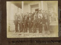 Photography:Cabinet Photos, RARE PHOTO OF THE U.S. GRAND JURY IN SOCORRO N.M.- In the early1880s, Socorro was the center of a frenetic mining boom, wit...(Total: 1 Item)
