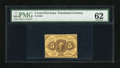 Fractional Currency:First Issue, Fr. 1228 5c First Issue PMG Uncirculated 62....