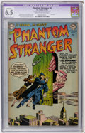 Golden Age (1938-1955):Horror, The Phantom Stranger #6 (DC, 1953) CGC Apparent FN+ 6.5 Slight (A)Cream to off-white pages....