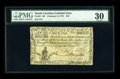 Colonial Notes:South Carolina, South Carolina February 8, 1779 $70 PMG Very Fine 30....
