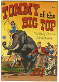"Golden Age (1938-1955):Adventure, Tommy of the Big Top #11 Davis Crippen (""D"" Copy) pedigree (KingFeatures Syndicate, 1948) Condition: FN/VF...."