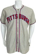 Baseball Collectibles:Uniforms, 1946 Nick Strincevich Game Worn Pittsburgh Pirates Jersey....