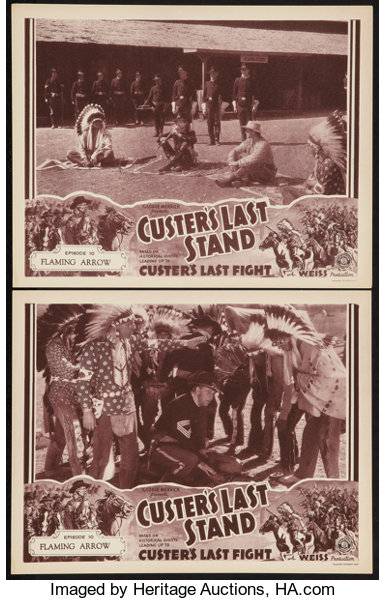 Custer S Last Stand Stage And Screen Productions 1936 Lobby Lot 54128 Heritage Auctions If a player pierces themselves with the arrow, they will obtain a stand. custer s last stand stage and screen productions 1936 lobby lot 54128 heritage auctions
