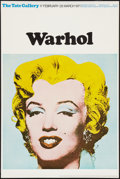 "Movie Posters:Exploitation, Andy Warhol Exhibition Poster (Tate Gallery, 1971). British Poster (20"" X 30""). Exploitation.. ..."