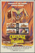 "Movie Posters:Exploitation, Carthage in Flames (Columbia, 1961). One Sheet (27"" X 41""). Exploitation.. ..."