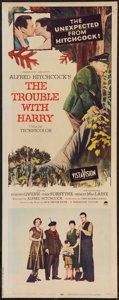 "Movie Posters:Hitchcock, The Trouble with Harry (Paramount, 1955). Insert (14"" X 36"").Hitchcock.. ..."