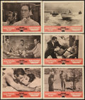 "Movie Posters:James Bond, Dr. No/From Russia with Love Combo (United Artists, R-1965). LobbyCards (6) (11"" X 14""). James Bond.. ... (Total: 6 Items)"