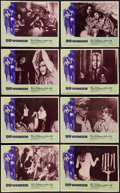 "Movie Posters:Bad Girl, 99 Women (Commonwealth United, 1968). Lobby Card Set of 8 (11"" X14""). Bad Girl.. ... (Total: 8 Items)"