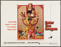 "Movie Posters:Action, Enter the Dragon (Warner Brothers, 1973). Half Sheet (22"" X 28"").Action.. ..."