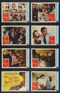 "Movie Posters:Academy Award Winners, All the King's Men (Columbia, R-1958). CGC Graded Lobby Card Set of 8 (11"" X 14""). Academy Award Winners.. ... (Total: 8 Items)"