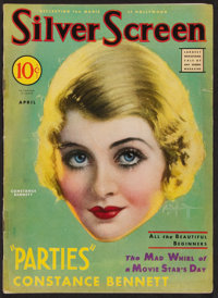 "Silver Screen (Screenland, April 1932). Magazine (68 Pages, 8.5"" X 11.5""). Miscellaneous"