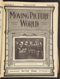"Movie Posters:Miscellaneous, Moving Picture World (Chalmers Publishing, Jan-Mar, 1912).Hardbound Magazines (13 Issues) (8.5"" X 11.5"") . Miscellaneous....."