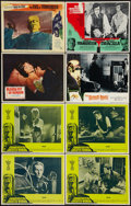 "Movie Posters:Horror, Frankenstein Created Woman & Others Lot (20th Century Fox, 1967). Lobby Cards (8) (11"" X 14""). Horror.. ... (Total: 8 Items)"