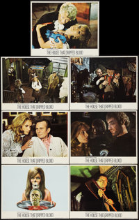 "The House that Dripped Blood and Others Lot (Cinerama Releasing, 1971). Lobby Cards (18) (11"" X 14""). Horror..."