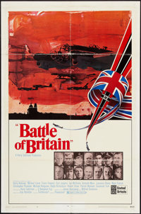 """Battle of Britain (United Artists, 1969). One Sheet (27"""" X 41"""") Style A. War"""