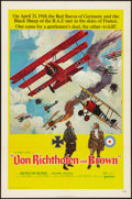 "Movie Posters:War, Von Richthofen and Brown (United Artists, 1971). One Sheet (27"" X41""). War.. ..."
