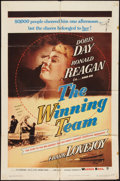 """Movie Posters:Sports, The Winning Team (Warner Brothers, 1952). One Sheet (27"""" X 41""""). Sports.. ..."""