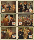 """Movie Posters:Comedy, The Dancing Masters (20th Century Fox, 1943). Lobby Cards (6) (11""""X 14""""). Comedy.. ... (Total: 6 Items)"""