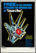 """Movie Posters:Science Fiction, Logan's Run (MGM, 1976). Poster (40"""" X 60"""") Advance. ScienceFiction.. ..."""