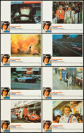 "Movie Posters:Sports, Le Mans (National General, 1971). Lobby Card Set of 8 (11"" X 14"").Sports.. ... (Total: 8 Items)"