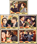 """Movie Posters:Comedy, Tugboat Annie (MGM, 1933). Lobby Cards (5) (11"""" X 14"""").. ...(Total: 5 Items)"""