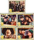 "Movie Posters:Western, Viva Villa! (MGM, 1934). Lobby Cards (5) (11"" X 14"").. ... (Total:5 Items)"