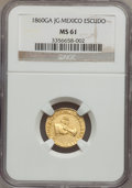 Mexico, Mexico: Republic gold Escudo 1860Ga-JG, ...
