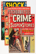 Golden Age (1938-1955):Crime, EC Comics Crime Group (EC, 1950s).... (Total: 6 Comic Books)