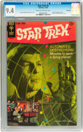 Silver Age (1956-1969):Science Fiction, Star Trek #3 Savannah pedigree (Gold Key, 1968) CGC NM 9.4 Cream tooff-white pages....