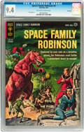Silver Age (1956-1969):Science Fiction, Space Family Robinson #4 Savannah pedigree (Gold Key, 1963) CGC NM 9.4 Off-white to white pages....
