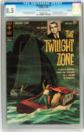 Silver Age (1956-1969):Horror, Twilight Zone #1 Savannah pedigree (Gold Key, 1962) CGC VF+ 8.5Cream to off-white pages....