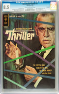 Silver Age (1956-1969):Mystery, Boris Karloff Thriller #1 Savannah pedigree (Gold Key, 1962) CGCVF+ 8.5 Cream to off-white pages....