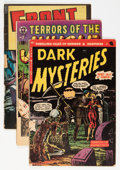 Golden Age (1938-1955):Horror, Comic Books - Assorted Golden Age Horror Comics Group (VariousPublishers, 1950s) Condition: Average GD except as noted....(Total: 11 Comic Books)