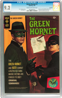 The Green Hornet #1 Savannah pedigree (Gold Key, 1967) CGC NM- 9.2 Cream to off-white pages