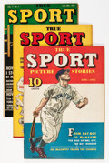 Golden Age (1938-1955):Non-Fiction, True Sport Picture Stories Group (Street & Smith, 1942-48)....(Total: 8 Comic Books)