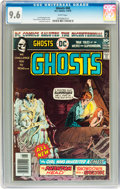 Bronze Age (1970-1979):Horror, Ghosts #48 (DC, 1976) CGC NM+ 9.6 White pages....