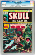 Bronze Age (1970-1979):Superhero, Skull, the Slayer #1 (Marvel, 1975) CGC NM 9.4 White pages....