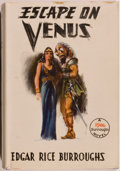 Books:Science Fiction & Fantasy, Edgar Rice Burroughs. Escape on Venus. Tarzana: Edgar Rice Burroughs, [1946]. First edition, first printing. Octavo....