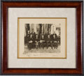 Autographs:U.S. Presidents, Herbert Hoover and Cabinet Signed Photograph. ...