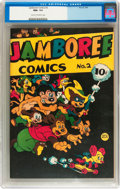 Golden Age (1938-1955):Funny Animal, Jamboree Comics #2 (Round, 1946) CGC NM+ 9.6 Cream to off-whitepages....