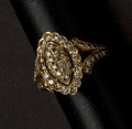 Estate Jewelry:Rings, Spectacular Cartier Early 18k Diamond Gold Ring. ...