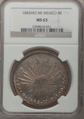 Mexico, Mexico: Republic 8 Reales 1845Mo-MF, ...