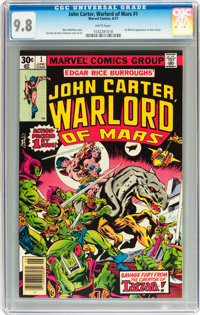 John Carter, Warlord of Mars #1 (Marvel, 1977) CGC NM/MT 9.8 White pages