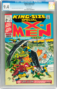X-Men Annual #2 (Marvel, 1971) CGC NM 9.4 Off-white pages