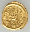 Ancients:Byzantine, Ancients: Justin II (565-578). AV solidus (4.00 gm). ...