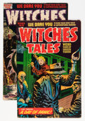 Golden Age (1938-1955):Horror, Witches Tales #17 and 22 Group (Harvey, 1954).... (Total: 2 ComicBooks)