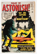 Silver Age (1956-1969):Science Fiction, Tales to Astonish #2 (Marvel, 1959) Condition: GD+....