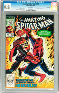 Modern Age (1980-Present):Superhero, The Amazing Spider-Man #250 Twin Cities pedigree (Marvel, 1984) CGCNM/MT 9.8 White pages....
