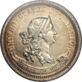 Patterns, 1869 10C Standard Silver Ten Cents, Judd-703, Pollock-782, HighR.6, PR63 PCGS....